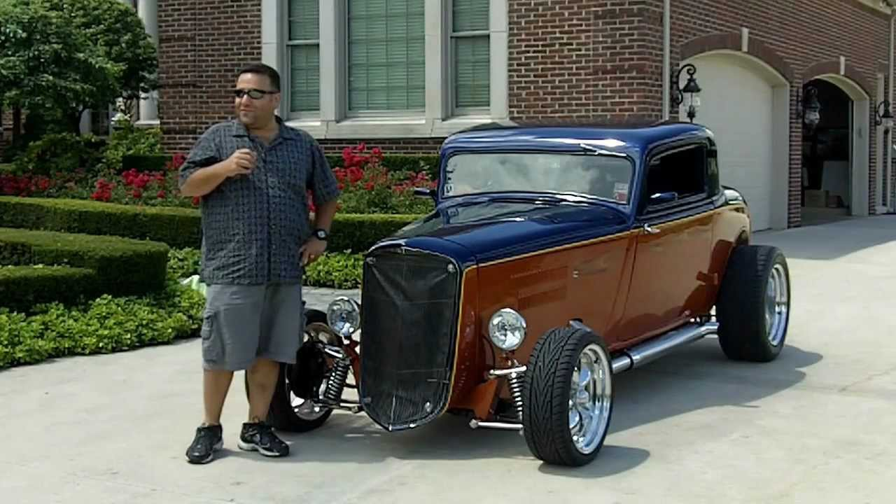 Chevy Muscle Cars >> 1934 Plymouth Street Rod Classic Muscle Car for Sale in MI Vanguard Motor Sales - YouTube