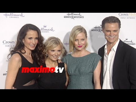 Hallmark TCA Winter 2015 Andie MacDowell, Lacey Chabert, Bailee Madison, Catherine Bell | ARRIVALS
