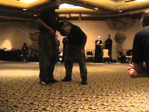Master Samuel Scott demos Combat Kuntao at Grandmaster Bobby Taboada's training camp