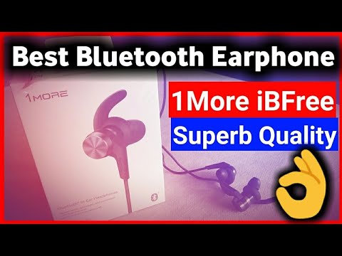 1MORE iBFree Bluetooth In-Ear Headphones Unboxing & Review | Best Bluetooth Earphones