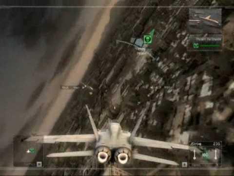 GameCloner: CrossFade - No Giving Up (HAWX)