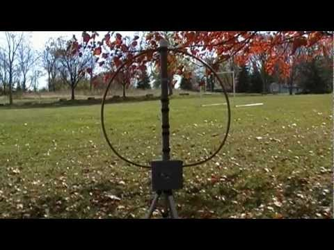 Magnetic Loop Antenna and Magnum 1012
