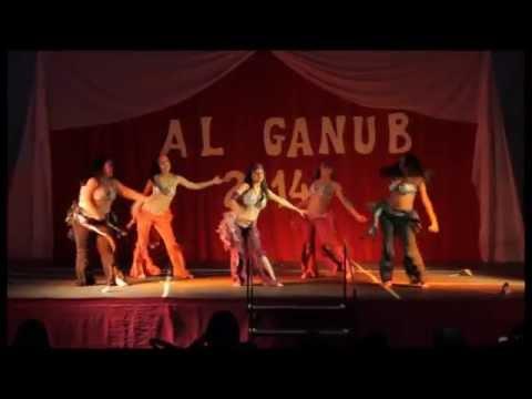 Danzas Arabes AL GANUB Rio Gallegos 2014 -Akustika -Muestra Anual AL GANUB 2014