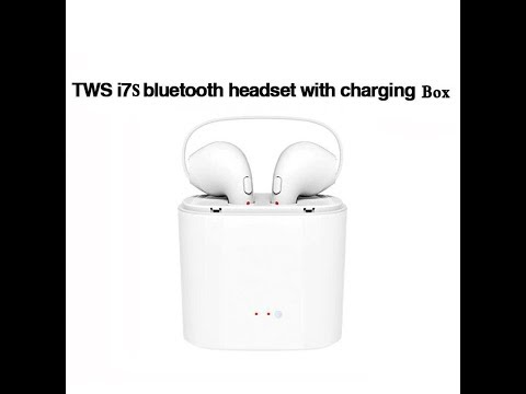 i7s tws review fake apple airpods