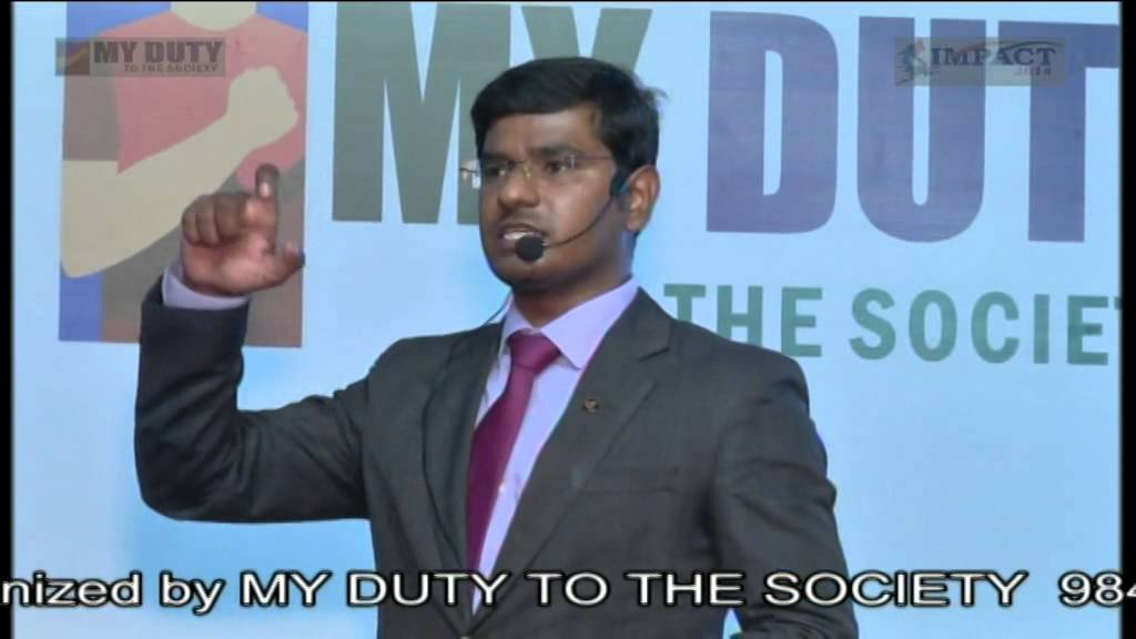 Presentation Skills by KVN KARTHIK at Khammam IMPACT 2014 - YouTube