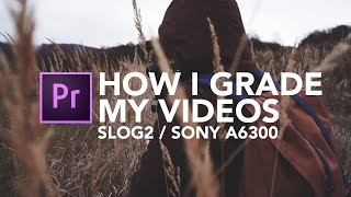 How I Grade My Videos | S-Log2 on Sony a6300/A7S