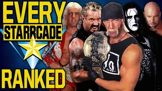 Every WCW Starrcade Ranked From WORST To BEST