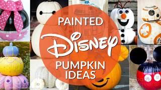 The Most Impressive Disney Painted Pumpkins