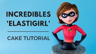 INCREDIBLES CAKE TUTORIAL
