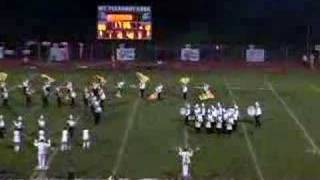 Mount Salem Video - Greensburg Salem Band Halftime at Mount Pleasant 2007
