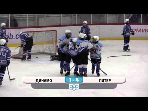 Первенство С.-Пб. 2004 г.р.\ ХК Динамо - ХК Питер - 6-4 \ забитые шайбы