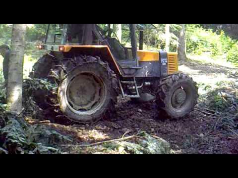 Renault 75.14 zrywka drewna