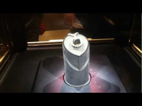 Hope Diamond of India in Washington D.C museum