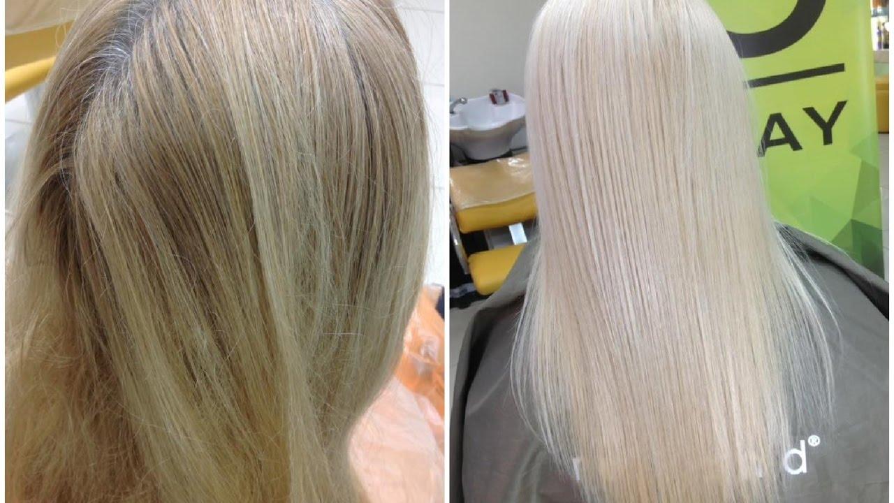 Как сделать блонд теплее