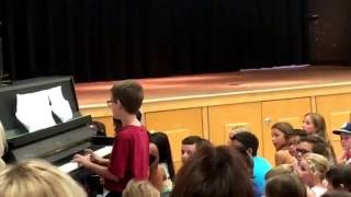Download Song Hedwig's Theme Piano Live | School Talent Show Free StafaMp3