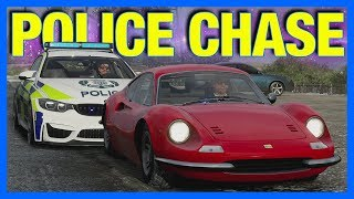 Forza Horizon 4 Online : The Greatest Police Chase Ever!!