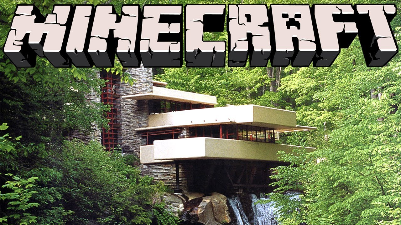 Minecraft Falling Water House YouTube