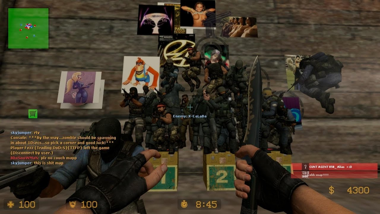 This is counter- strike 1 half- life retail (won)