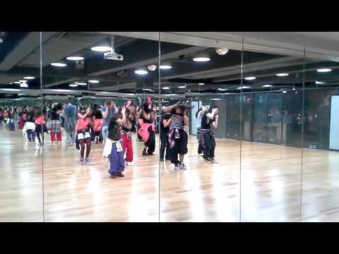 Ye Ishq Hai Remix - Bollywood Funk (Beginners) Class choreographed...