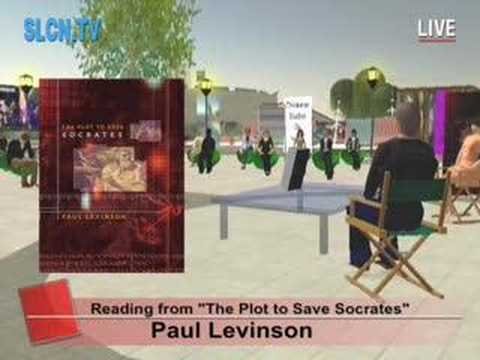 Paul Levinson's The Plot to Save Socrates ... the beginning