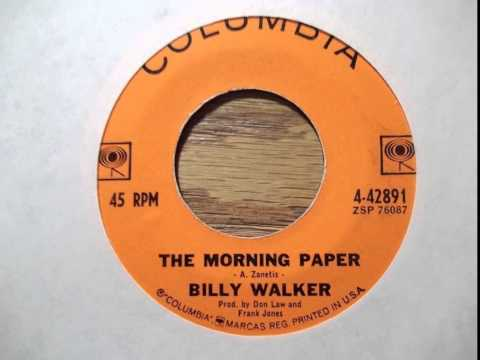 Billy Walker - Morning Paper