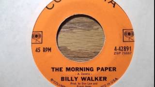 Watch Billy Walker Morning Paper video
