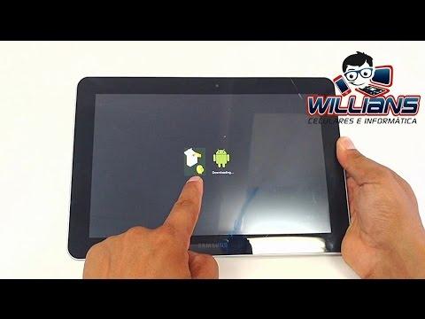 Hard Reset Tablet Samsung Tab 10.1 GT-P7510. P7500. Como Formatar. Desbloquear. Restaurar