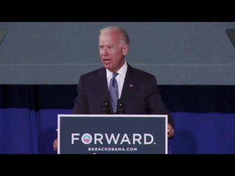 Vice President Joe Biden on Medicare - Blacksburg, VA
