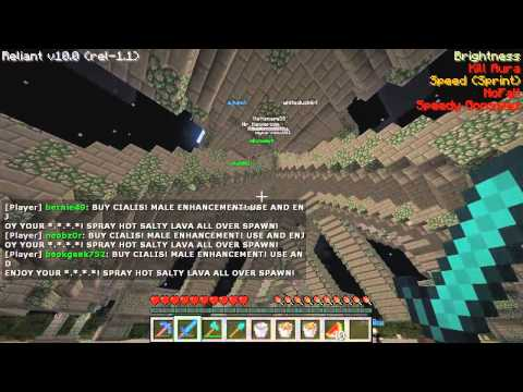 Minecraft Griefing - Mikeland Survival