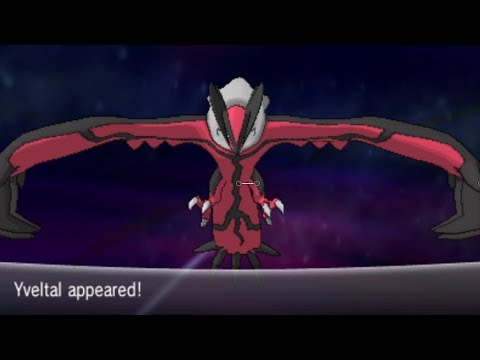 Pokemon X and Y Part 59 - Catching Yveltal  [ CRITICAL CATCH ]