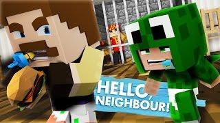 Minecraft Baby Hello Neighbour - STEALING MCDONALDS SECRETS!