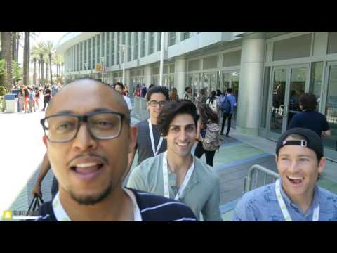 VidCon Day 1 - Ismahawk x Studio71 x Jamie Costa