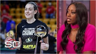 Breanna Stewart's injury is sparking talks for better WNBA pay  - Chiney Ogwumike | SportsCenter
