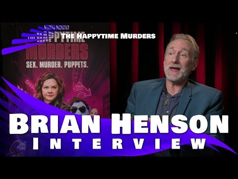 THE HAPPYTIME MURDERS - BRIAN HENSON INTERVIEW