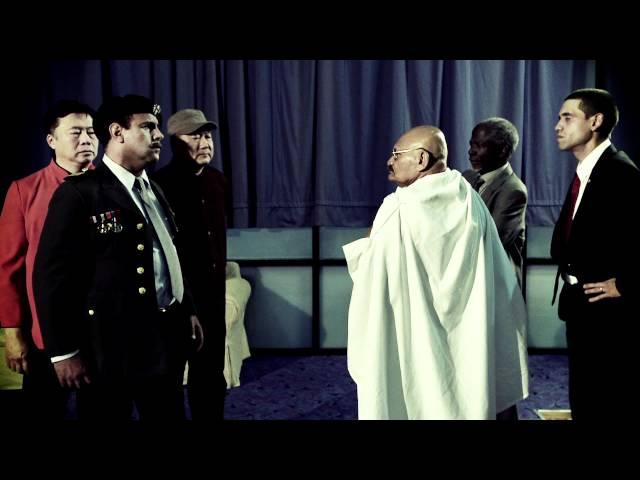 Saddam vs Gandhi. The Nobel Funk Off