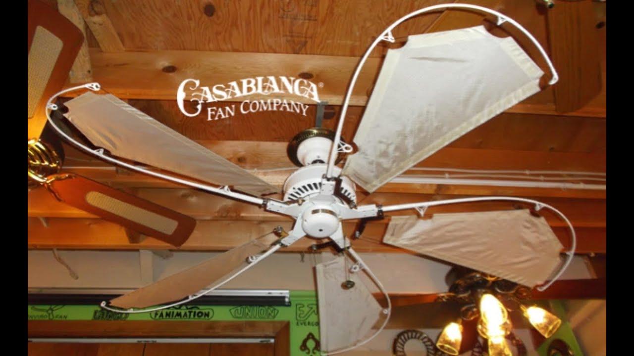 Casablanca Avalon Ceiling Fan Youtube