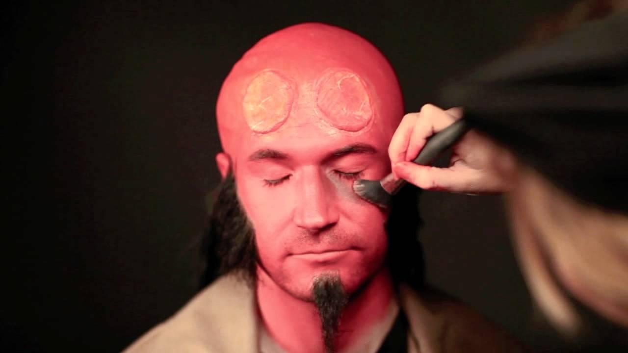Hellboy Makeup Tutorial Live