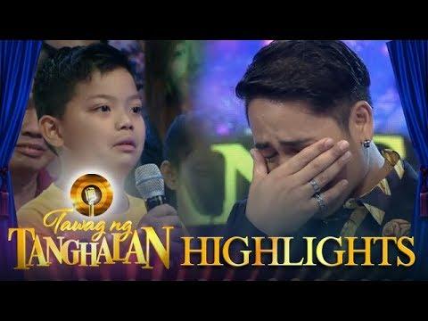 Tawag ng Tanghalan: Grand finalist Makoto tears up with his son's message