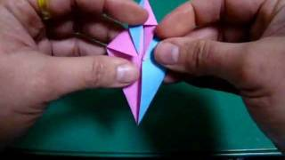 Origami Maniacs 52: Color Shifter Duo Star
