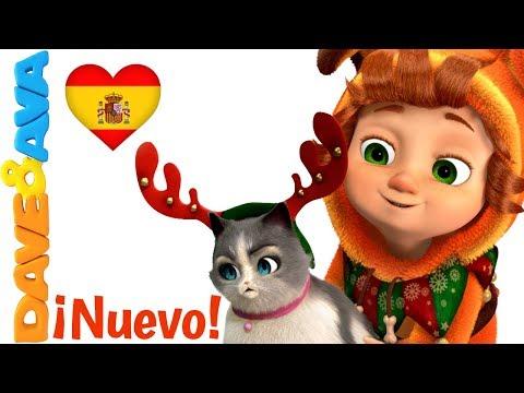 🎄Feliz, Feliz Navidad - Parte 2   Canciones de Navidad para Niños de Dave y Ava🎄