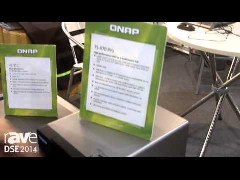 DSE 2014: Qnap Introduces Its TS-470 Player With 16 TB Capacity