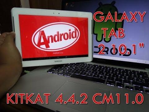 Instala Android 4.4 KitKat en tu Galaxy Tab 2 10.1