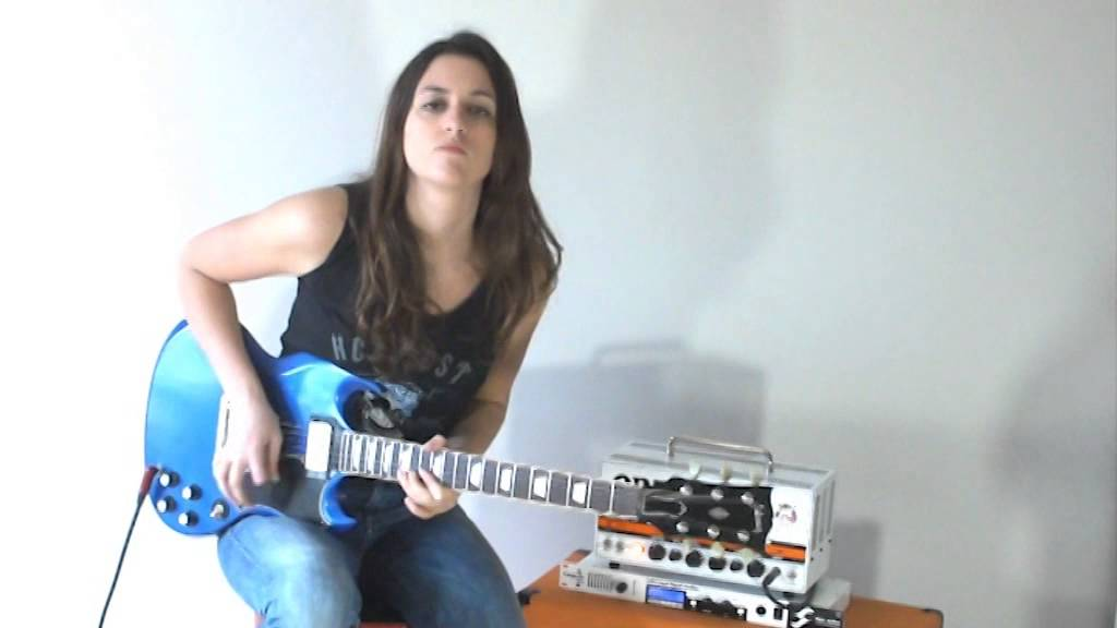 Laura Cox Back In Black Ac Dc Cover Youtube