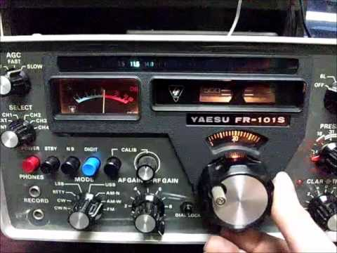 YAESU FR-101S Receiver