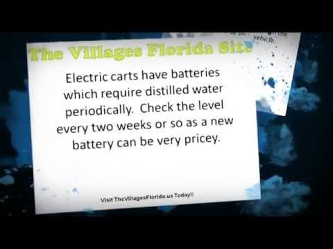 The Villages Florida Golf Carts-A Community Within Itself!