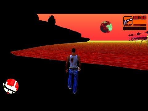 Играю в проклятую версию GTA San Andreas.. (страшно)