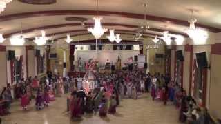 Navratri 2013 @ Lohana Hall Leicester (Ram Mandir Leicester) - Day 1 - Indhana Winva