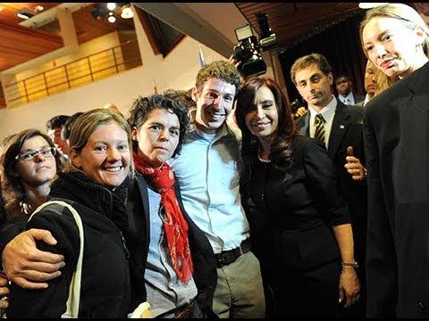 La Presidenta Cristina Fernandez dialogó con estudiantes de la Universidad de Harvard