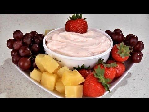 Strawberry Fruit Dip Recipe