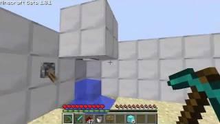 Minecraft - Tutoriais - Como fazer chuveiro? (01)